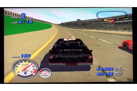 NASCAR 2001 (PS2) Race at Talladega with Dale Earnhardt ...