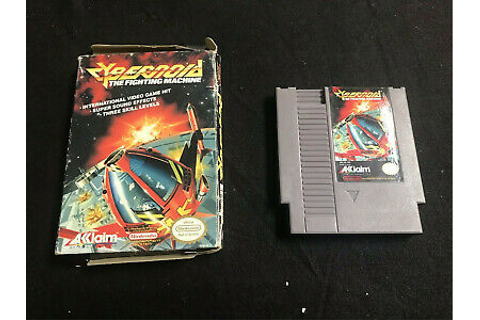CYBERNOID NES NINTENDO GAME IN BOX | eBay