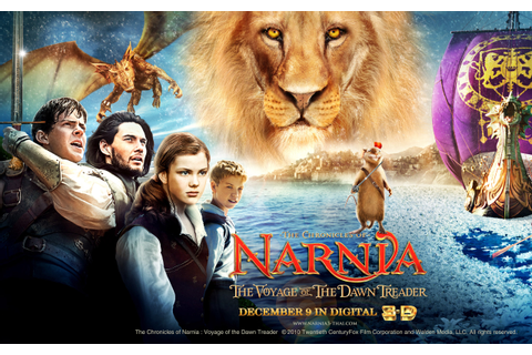 The Chronicles of Narnia Voyage of the Dawn Treader ...