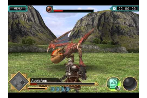 MONSTER HUNTER Dynamic Hunting ios iphone gameplay - YouTube