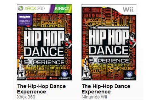 EB Games Canada: Hip Hop Dance Experience for XB360 Kinect ...