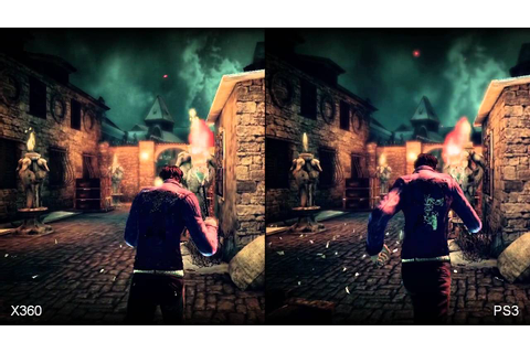 Shadows of the Damned PS3/Xbox 360 Comparison - YouTube