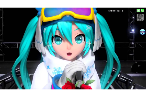 Hatsune Miku【Project Diva Arcade Future Tone】The Snow ...