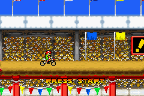 Motocross Maniacs Advance Download Game | GameFabrique