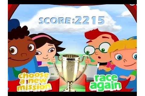 Little Einsteins Games The Great Sky Race - YouTube