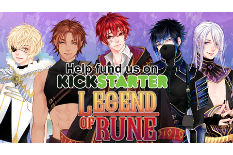 Legend of Rune: A BL / Yaoi Visual Novel RPG - Kickstarter ...