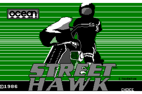 Street Hawk (1986) by Choice Software Amstrad CPC game