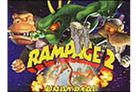 Classic Game Room - RAMPAGE 2: UNIVERSAL TOUR for N64 ...