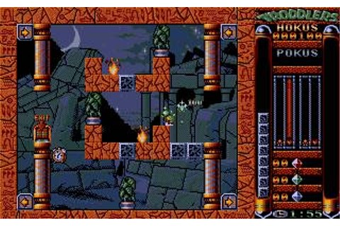 Troddlers Download (1993 Puzzle Game)