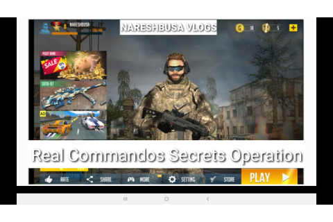 Real commandos secret Operation Game - YouTube