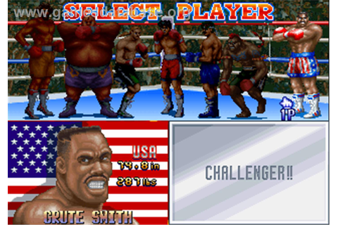 Best Bout Boxing - Arcade - Games Database