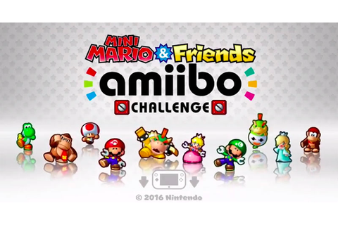 Reino do Cogumelo: Mini Mario & Friends: amiibo Challenge ...