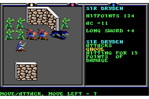 Death Knights of Krynn | Old DOS Games packaged for latest OS