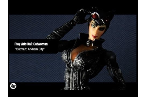 Batman Arkham City Play Arts Kai Catwoman Video Game ...