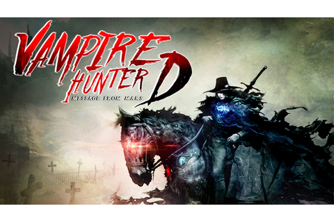 Vampire Hunter D: Message from Mars by Kurt Rauer —Kickstarter