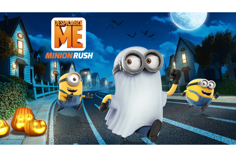 Despicable Me: Minion Rush - Haunted Hustle - Update ...