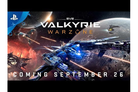 EVE: Valkyrie – Warzone Game | PS4 - PlayStation