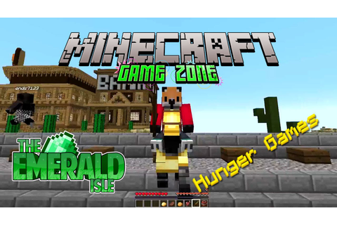 Minecraft - Game Zone - The Emerald Isle - Survival Games ...