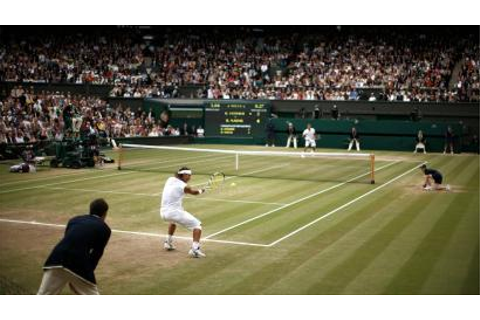 Wimbledon: A graphical replay of Federer vs. Nadal 2008 ...