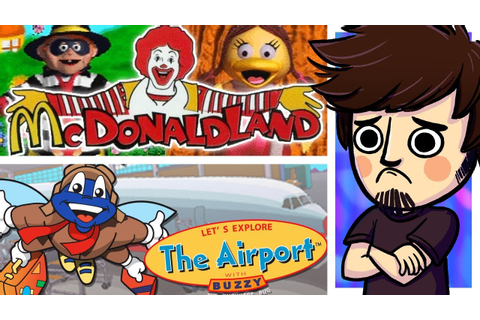 Goodwill Games! | McDonaldland + Let's Explore the Airport ...