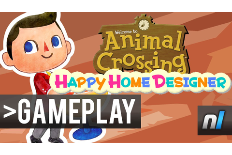 Animal Crossing: Happy Home Designer - First Look - YouTube