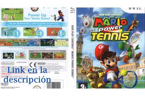 Mario Power Tennis Wii [NTSC] [WBFS] [1 Link Mega] - YouTube
