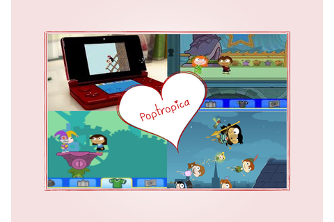 Embracing a Healthy Family: Poptropica Nintendo DS Game ...