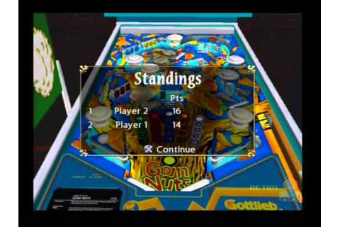 Gottlieb Pinball Classics PS2 Multiplayer Gameplay ...