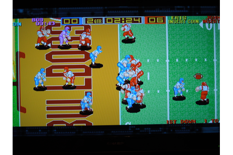 Arcade – Tecmo Bowl | Obscure Video Games