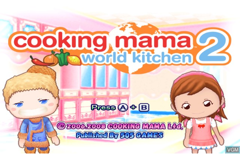Cooking Mama - World Kitchen for Nintendo Wii - The Video ...