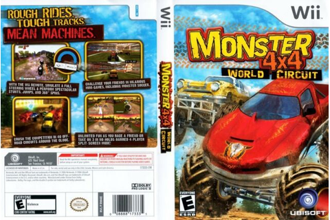 Monster 4X4: World Circuit For Wii Racing Game With Manual ...
