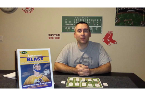Lacrosse Blast Board Game Review - YouTube