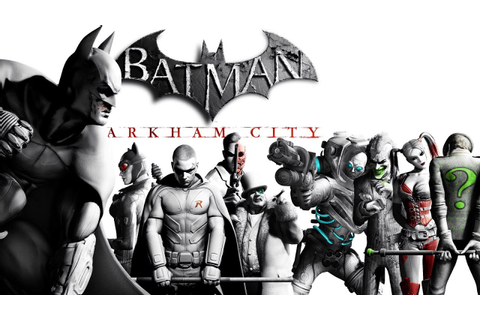 Batman: Arkham City [Game Movie] - YouTube