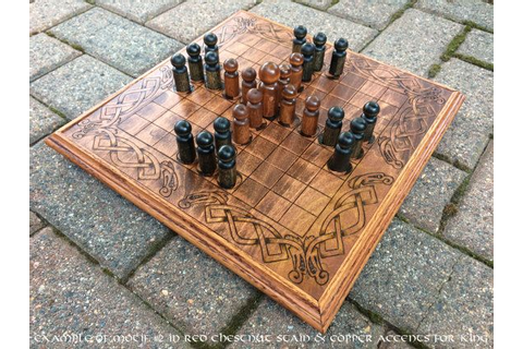 Hnefatafl Game Viking Chess King's Table by ...