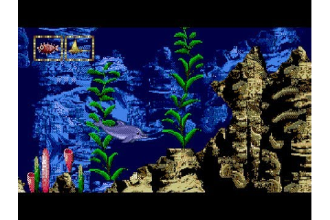 [Full GamePlay] Ecco Jr. [Sega MegaDrive/Genesis] - YouTube