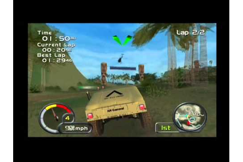 Test Drive Off Road Wide Open (PS2) Gameplay 9 - Humvee ...