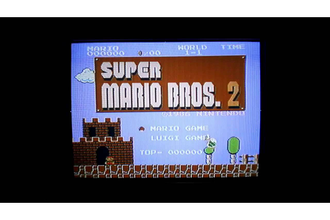 Super Mario Bros 2 Lost Level for Nintendo Famicom Game ...