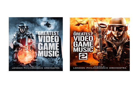 These orchestral video game album covers may be the ...