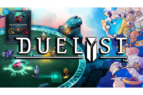 What is... Duelyst (Turn Based Strategy With Card Game ...