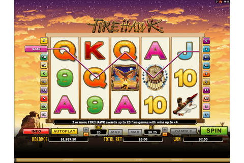 Firehawk slot: Play with $100 Free Bonus! | YummySpins