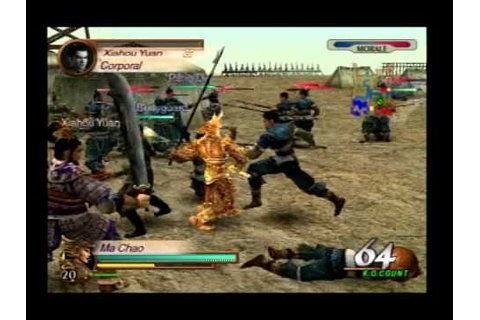 Dynasty Warriors 3- Tong Gate gameplay - YouTube