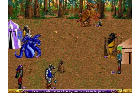 Battle view image - Heroes of Might and Magic: A Strategic ...