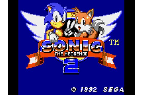 Game Gear Longplay [037] Sonic The Hedgehog 2 - YouTube