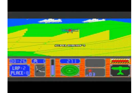 Racing Aces Game Sample - Sega CD - YouTube