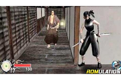 Tenchu - Time of the Assassins (Europe) PSP / PlayStation ...