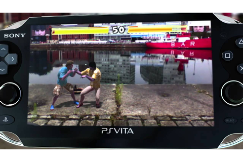 PS Vita - Reality Fighters (gamescom 2011) - YouTube