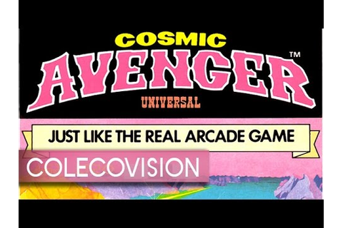 Cosmic Avenger - ColecoVision - YouTube