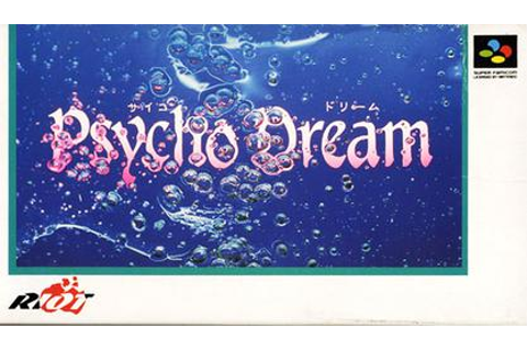 Psycho Dream - Wikipedia