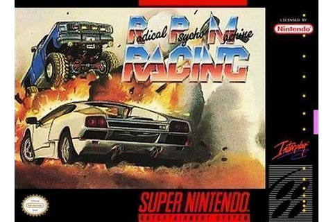 RPM Racing - SNES ROM Free Download