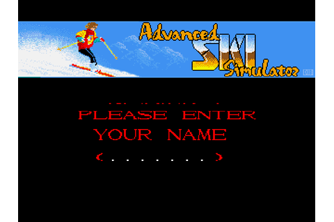 Download Professional Ski Simulator (Amiga) - My Abandonware